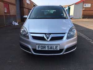 2007  Vauxhall Zafira Club 1.6 petrol 7 seater Manual Gearbox
