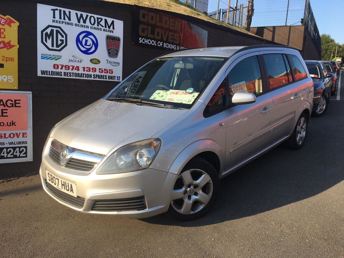 2007 Vauxhall Zafira Club 1.6 petrol 7 seater Manual Gearbox For Sale (picture 2 of 6)