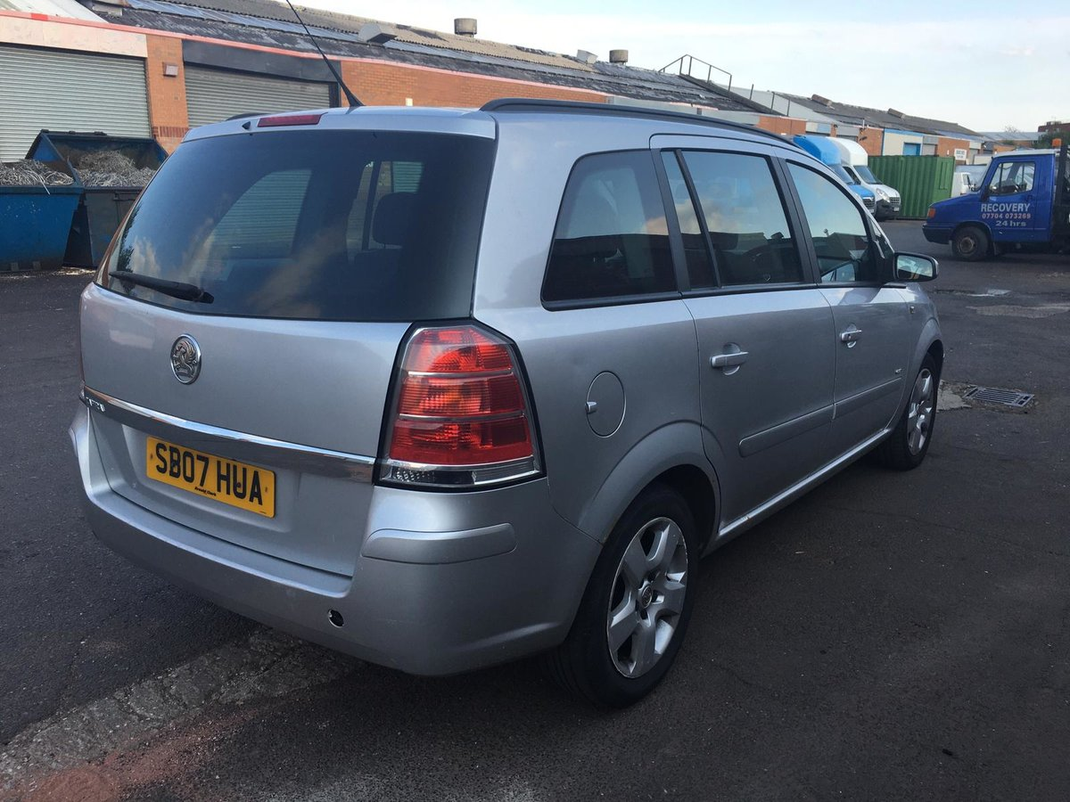 2007 Vauxhall Zafira Club 1.6 petrol 7 seater Manual Gearbox For Sale (picture 5 of 6)