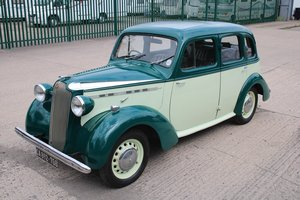 1937 Vauxhall 12/4 Series i (Rare Collectors Item) For Sale
