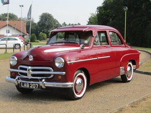 1952 Vauxhall Wyvern at ACA 22nd August