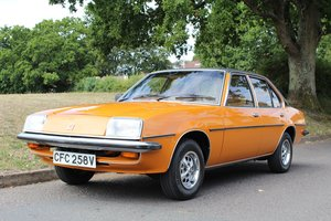 1980 Vauxhall Cavalier GLS  - To be auctioned 30-10-20