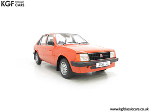 1980 The Most Incredible Mk1 Vauxhall Astra L 1300S, 10,448 Miles SOLD