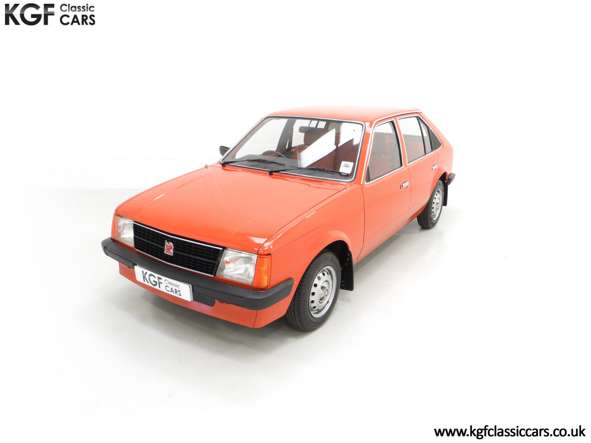 1980 The Most Incredible Mk1 Vauxhall Astra L 1300S, 10,448 Miles SOLD (picture 5 of 24)