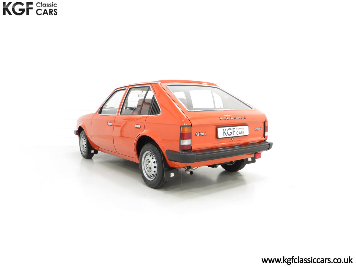 1980 The Most Incredible Mk1 Vauxhall Astra L 1300S, 10,448 Miles SOLD (picture 8 of 24)