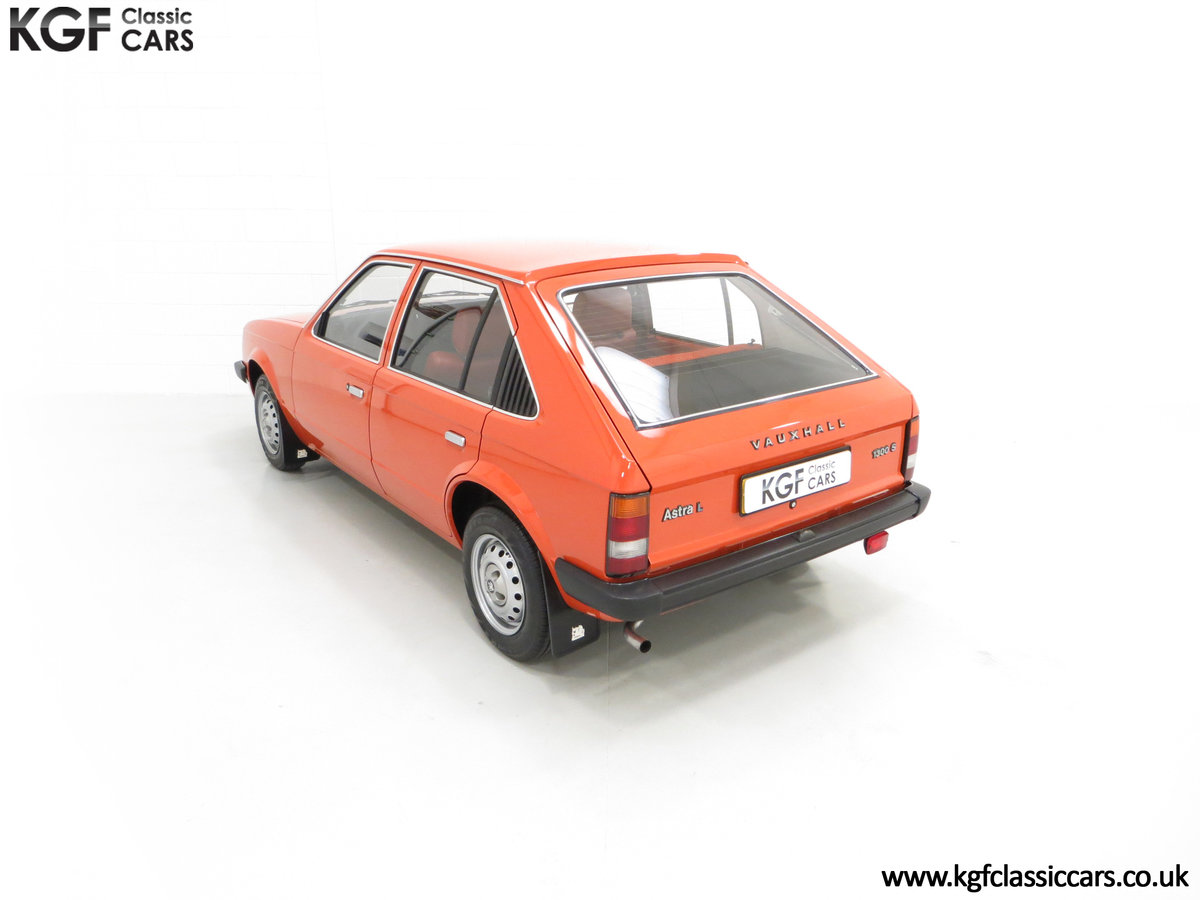 1980 The Most Incredible Mk1 Vauxhall Astra L 1300S, 10,448 Miles SOLD (picture 9 of 24)