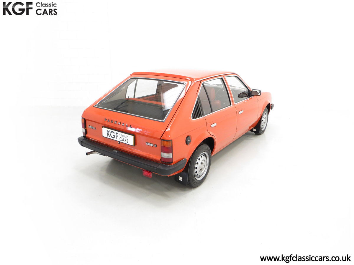 1980 The Most Incredible Mk1 Vauxhall Astra L 1300S, 10,448 Miles SOLD (picture 12 of 24)