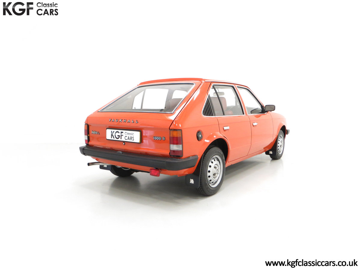 1980 The Most Incredible Mk1 Vauxhall Astra L 1300S, 10,448 Miles SOLD (picture 13 of 24)