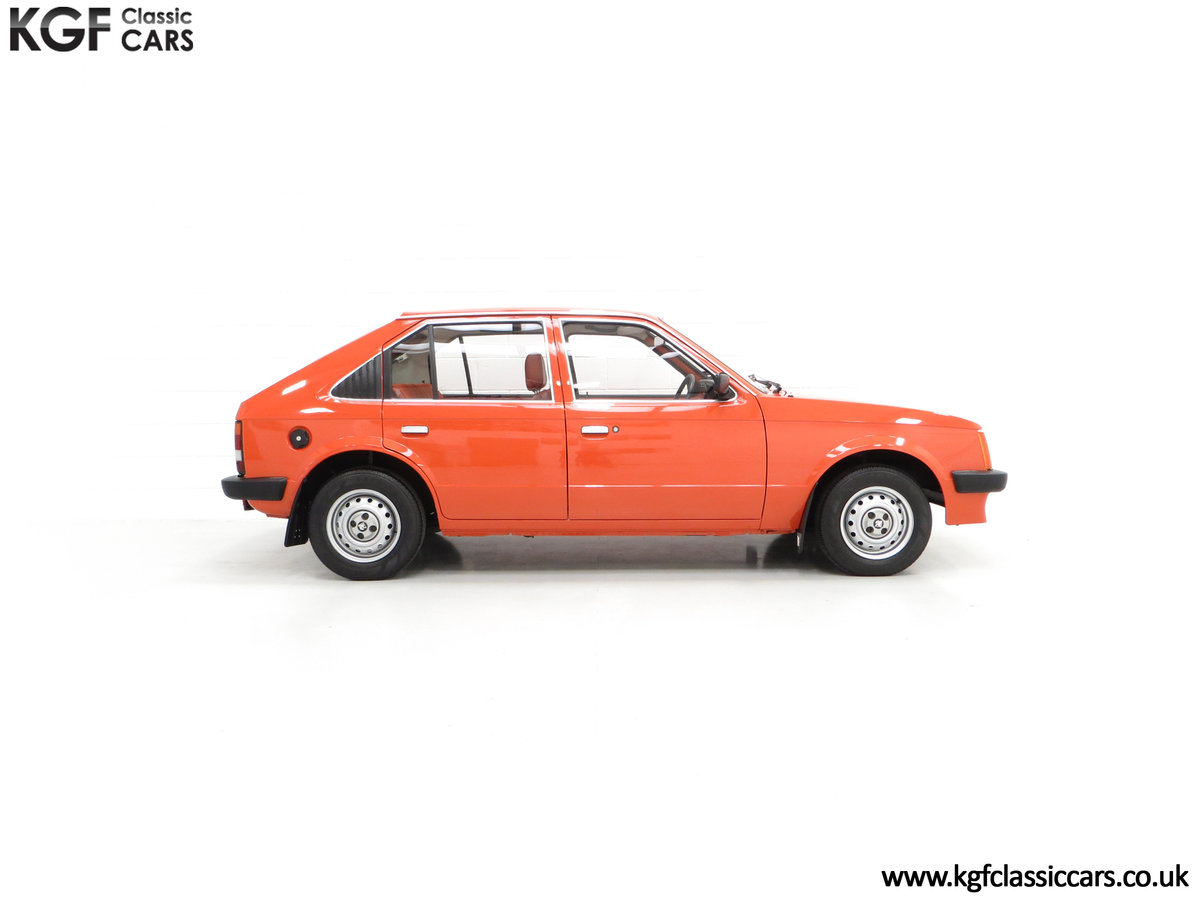1980 The Most Incredible Mk1 Vauxhall Astra L 1300S, 10,448 Miles SOLD (picture 14 of 24)