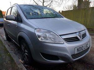 2010  Vauxhall Zafira 1.6 i 16v Exclusiv 5dr