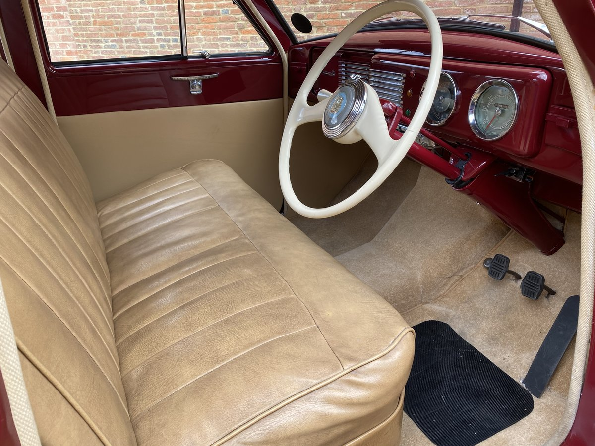 1952 Vauxhall Wyvern E Series. Stunning Car. SOLD (picture 4 of 6)