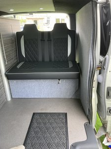brand new camper conversion by Camperholics Brecon