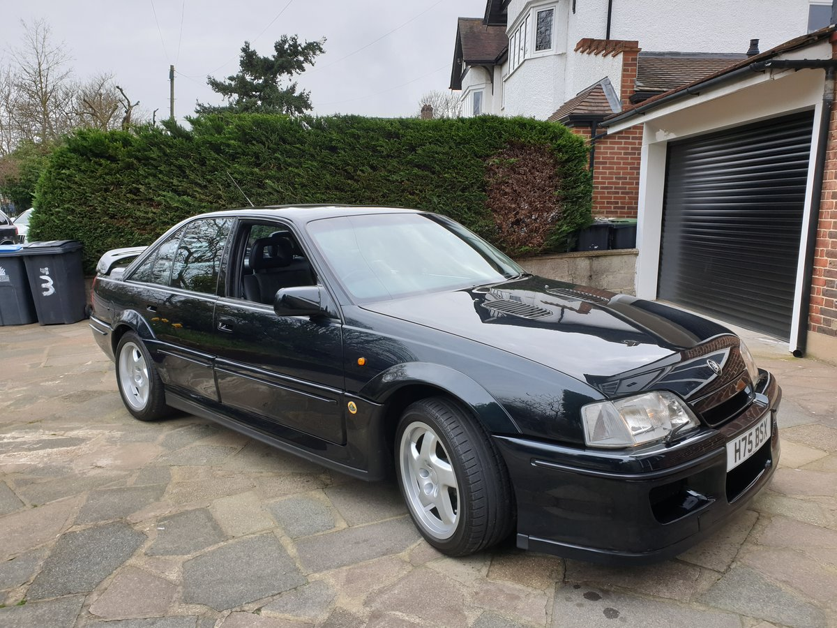 1991 Enthusiast Owned Lotus Carlton For Sale (picture 2 of 6)