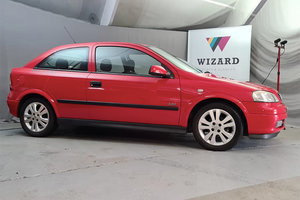 2002 Vauxhall Astra SXi 5,000 mile Time Warp Car AS NEW