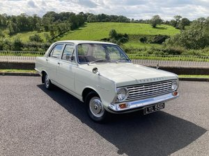 1966 **OCTOBER ENTRY**  Vauxhall Victor Super