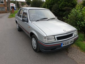 Vauxhall Nova Saloon 4 door 1.2  low mileage  ** 45118 **