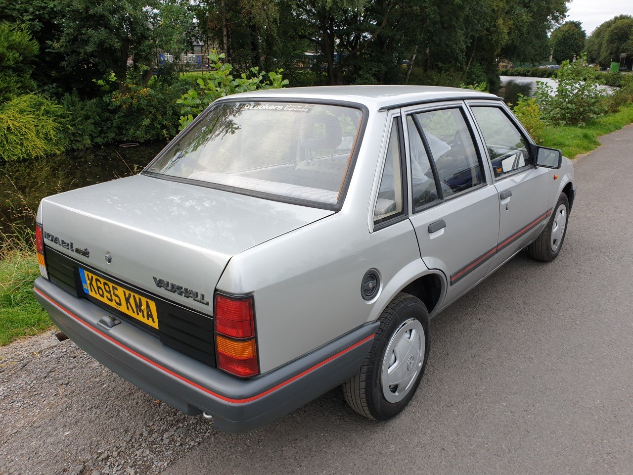 1992 Vauxhall Nova Saloon 4 door 1.2  low mileage  ** 45118 ** For Sale (picture 3 of 6)