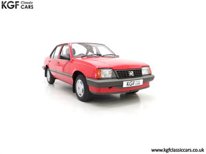 Picture of 1985 A Factory Original Vauxhall Cavalier Mk2 L 1600 29,992 Miles