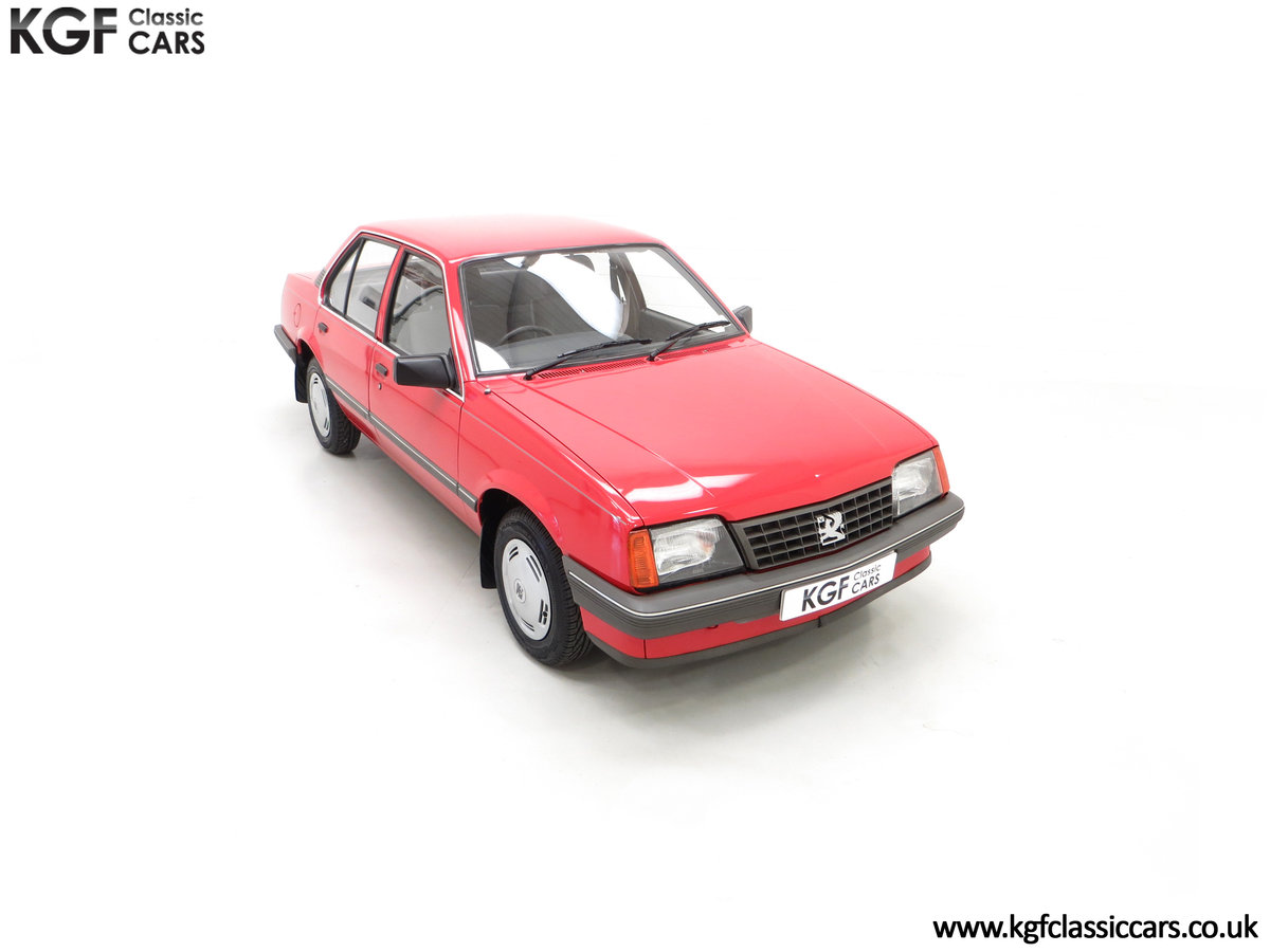 1985 A Factory Original Vauxhall Cavalier Mk2 L 1600 29,992 Miles SOLD (picture 2 of 24)