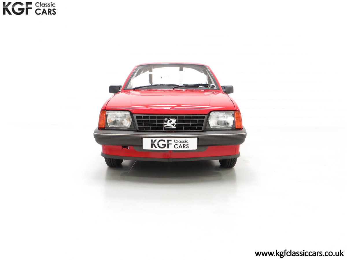 1985 A Factory Original Vauxhall Cavalier Mk2 L 1600 29,992 Miles SOLD (picture 3 of 24)