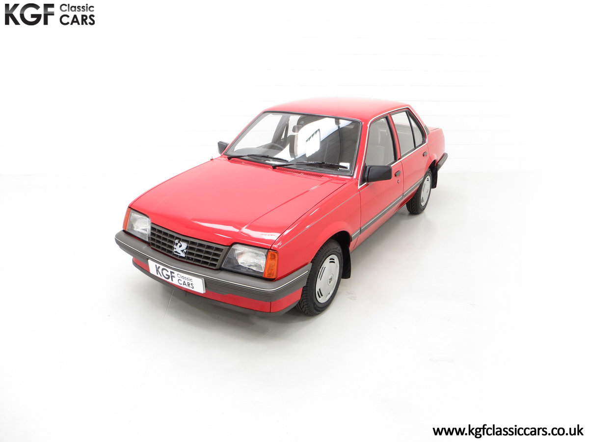 1985 A Factory Original Vauxhall Cavalier Mk2 L 1600 29,992 Miles SOLD (picture 5 of 24)
