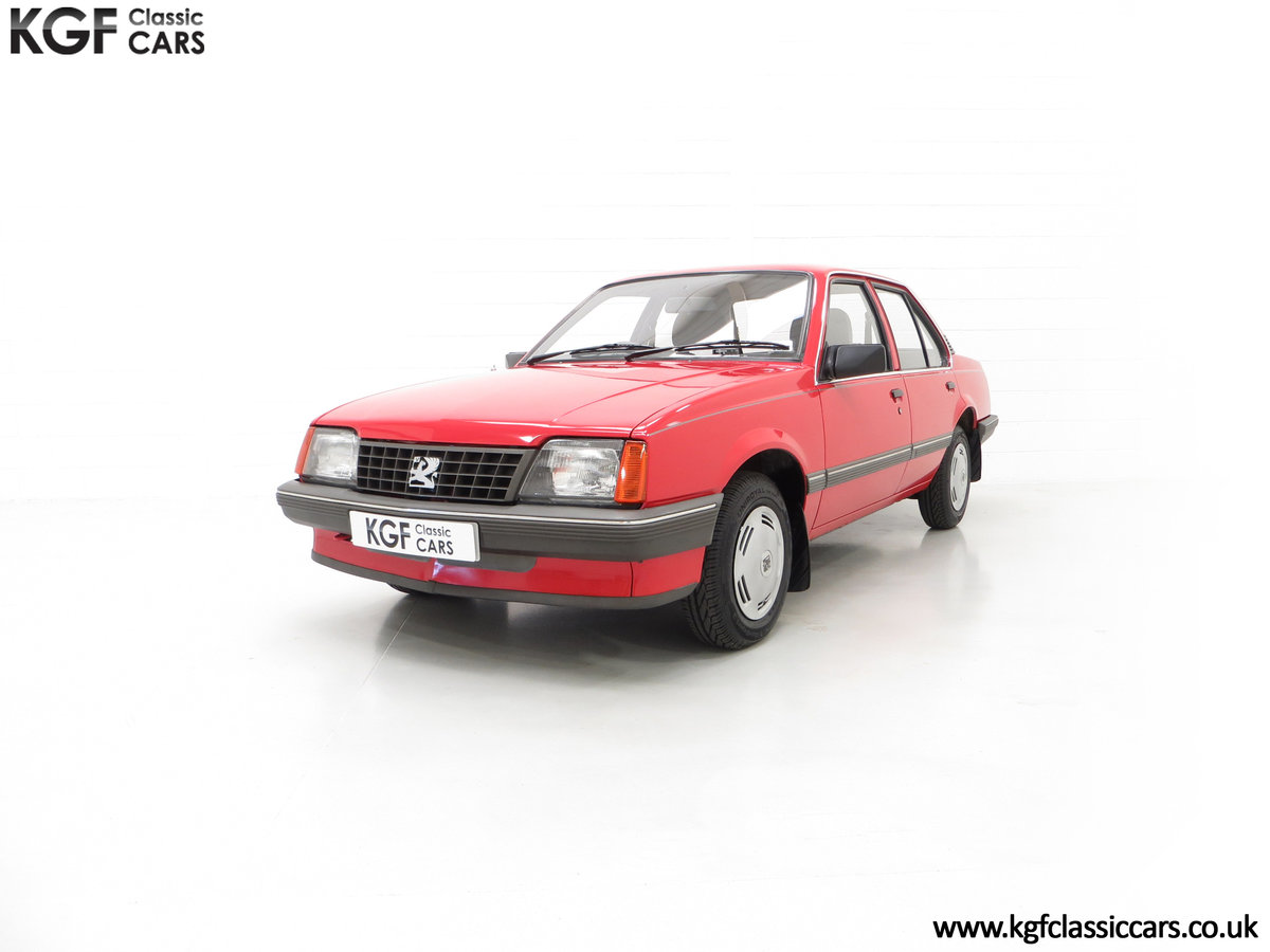 1985 A Factory Original Vauxhall Cavalier Mk2 L 1600 29,992 Miles SOLD (picture 6 of 24)
