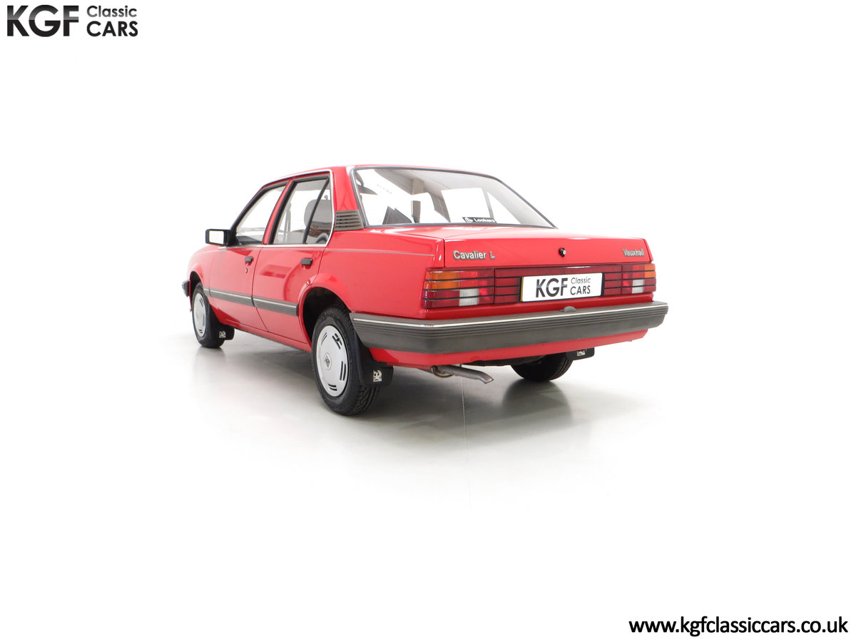 1985 A Factory Original Vauxhall Cavalier Mk2 L 1600 29,992 Miles SOLD (picture 8 of 24)