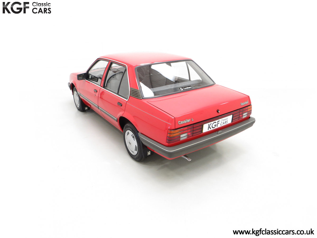 1985 A Factory Original Vauxhall Cavalier Mk2 L 1600 29,992 Miles SOLD (picture 9 of 24)