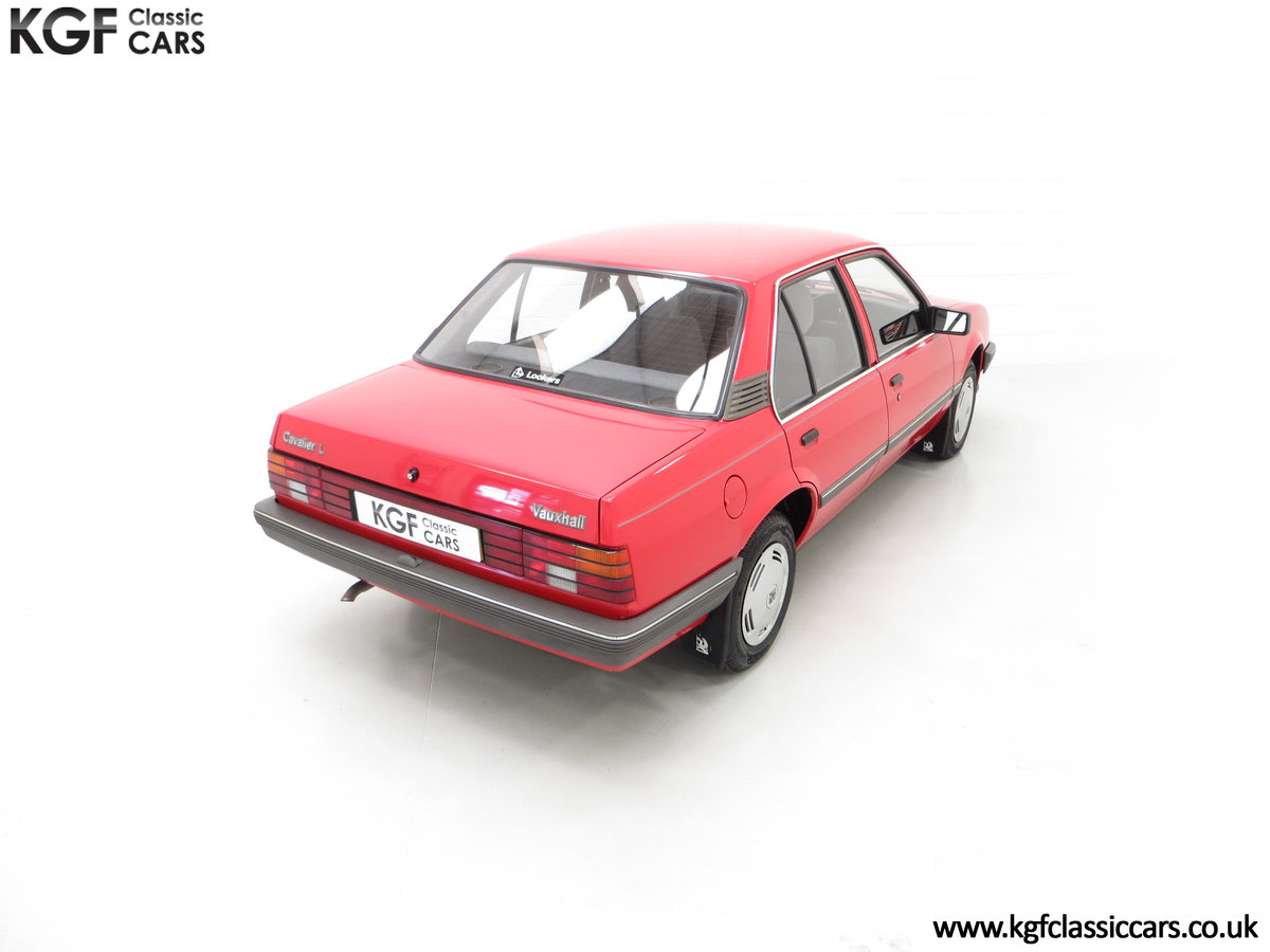 1985 A Factory Original Vauxhall Cavalier Mk2 L 1600 29,992 Miles SOLD (picture 12 of 24)