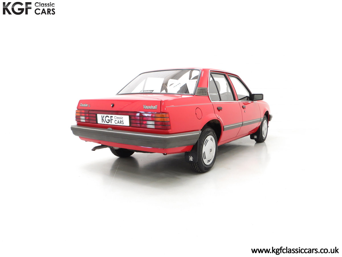1985 A Factory Original Vauxhall Cavalier Mk2 L 1600 29,992 Miles SOLD (picture 13 of 24)
