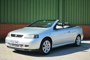2005 Vauxhall Astra Convertible 2.0 Turbo