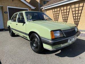 1983 Vauxhall Cavalier 1.6L - low miles 12 months MOT