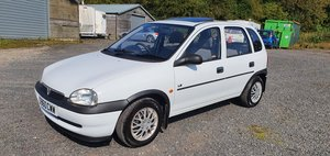 1999 Vauxhall corsa b ls 1 owner fantastic