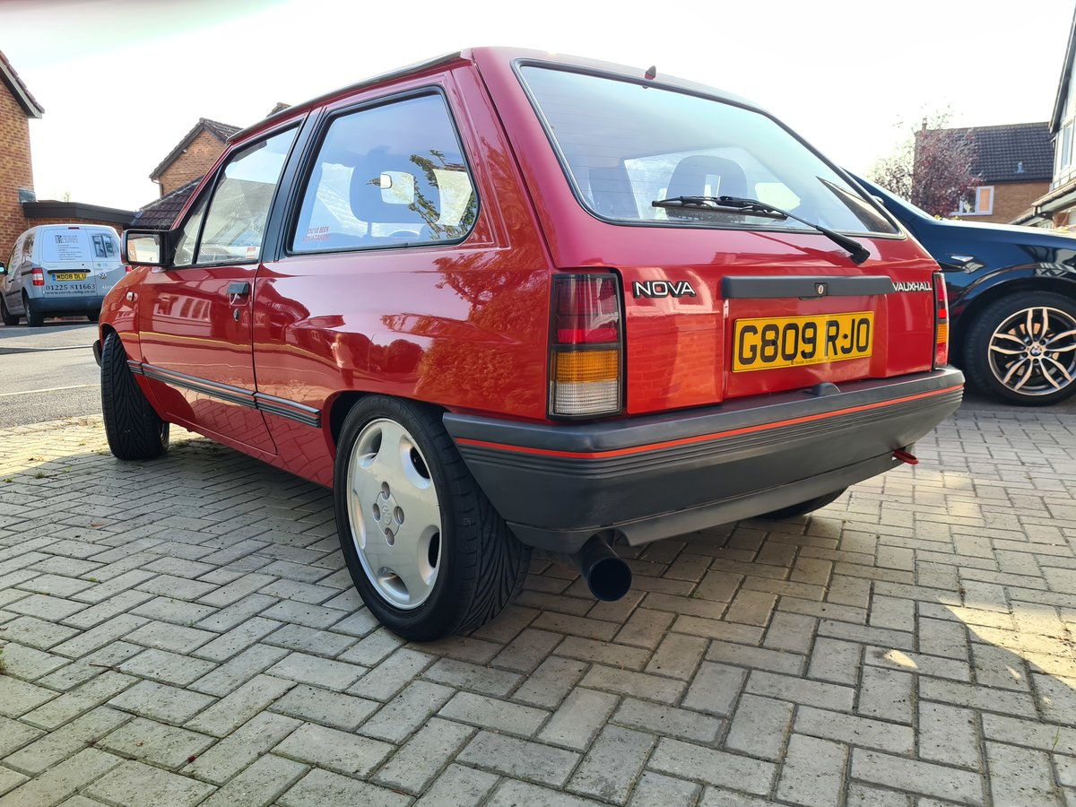 1989 Vauxhall Nova Star  For Sale (picture 2 of 6)