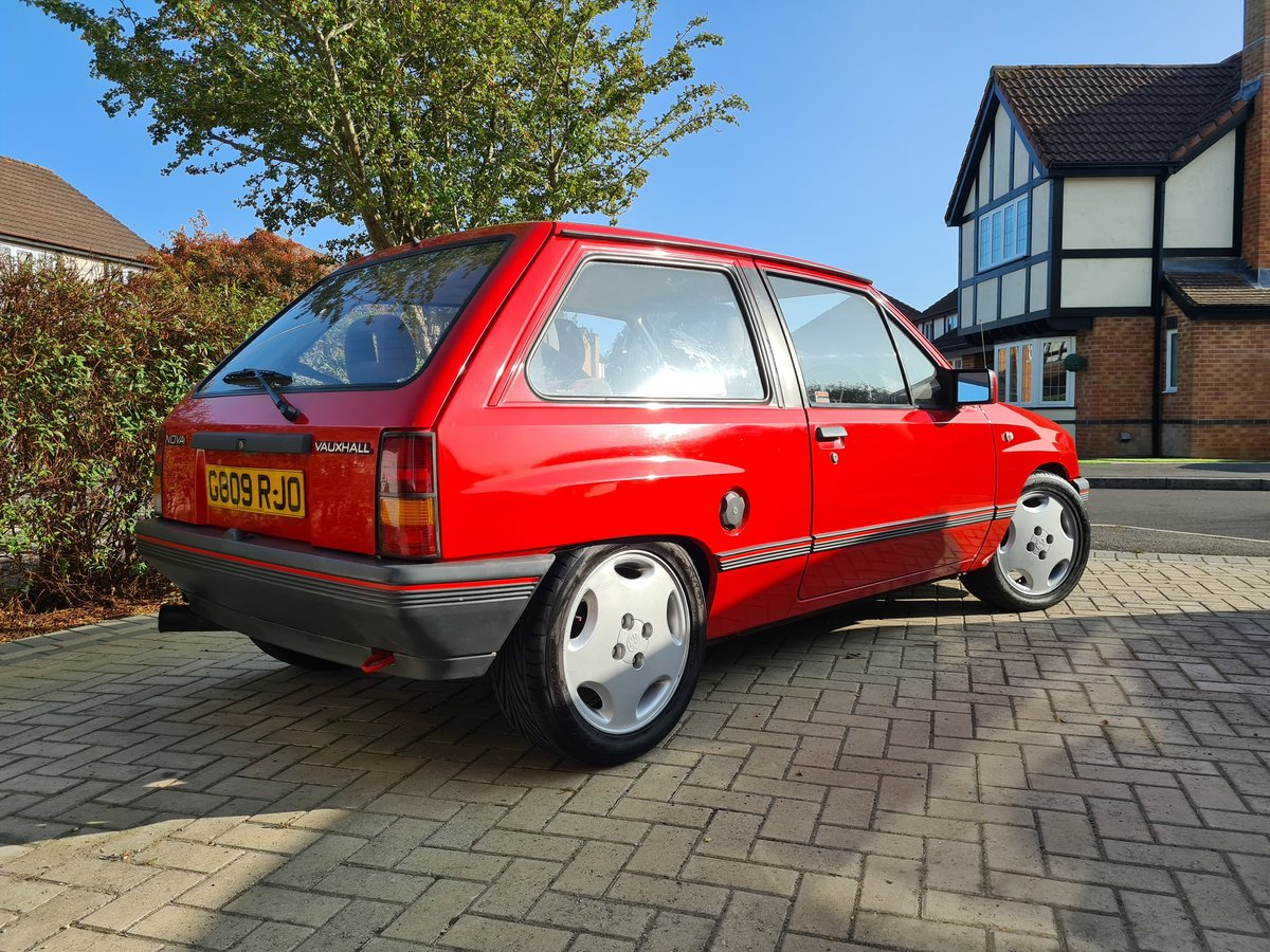 1989 Vauxhall Nova Star  For Sale (picture 3 of 6)