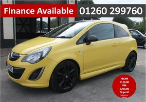 2014 VAUXHALL CORSA 1.2 LIMITED EDITION 3DR For Sale