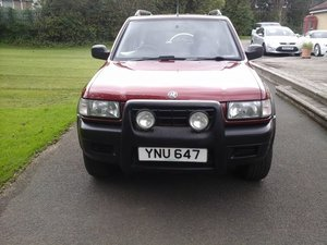 Picture of 1999 VAUXHALL FRONTERA 2.2 MANUEL, 4X4, 5DOOR