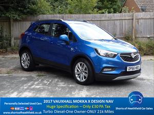 2017 Vauxhall Mokka X Design 1.6 CDTi Nav