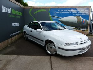 Picture of 1990 Calibra 16v Physical/Online Retro sale Nov 5th