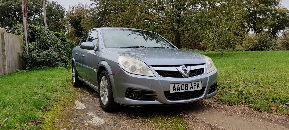2008 Vauxhall Vectra diesel in good condition, long MOT For Sale (picture 1 of 6)