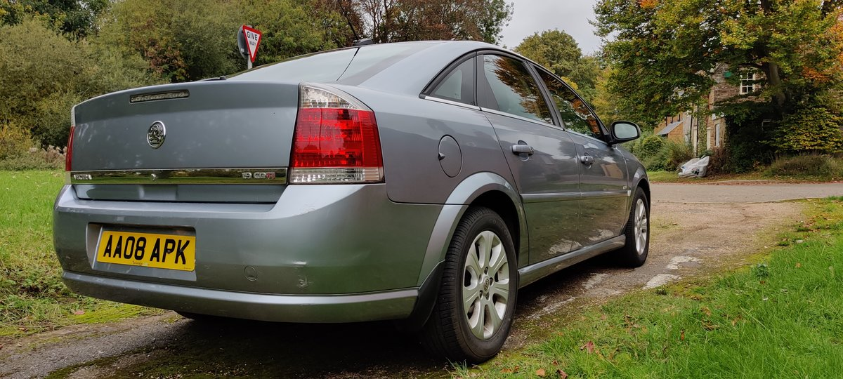 2008 Vauxhall Vectra diesel in good condition, long MOT For Sale (picture 4 of 6)