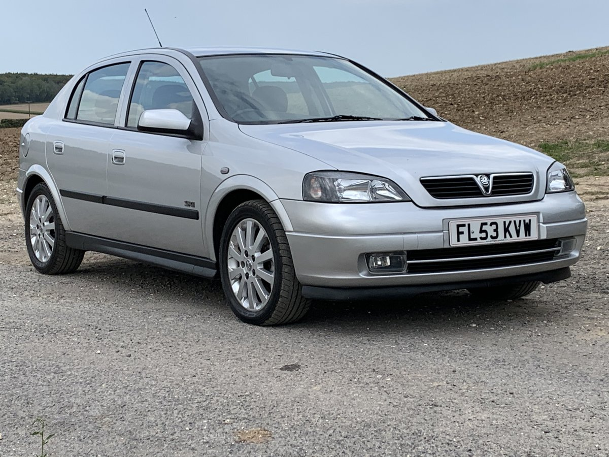 2003 Vauxhall Astra 1.8 SXi only 29,000miles For Sale (picture 1 of 6)