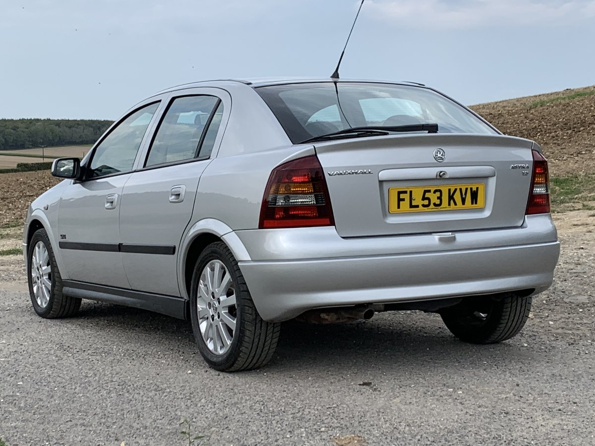 2003 Vauxhall Astra 1.8 SXi only 29,000miles For Sale (picture 2 of 6)