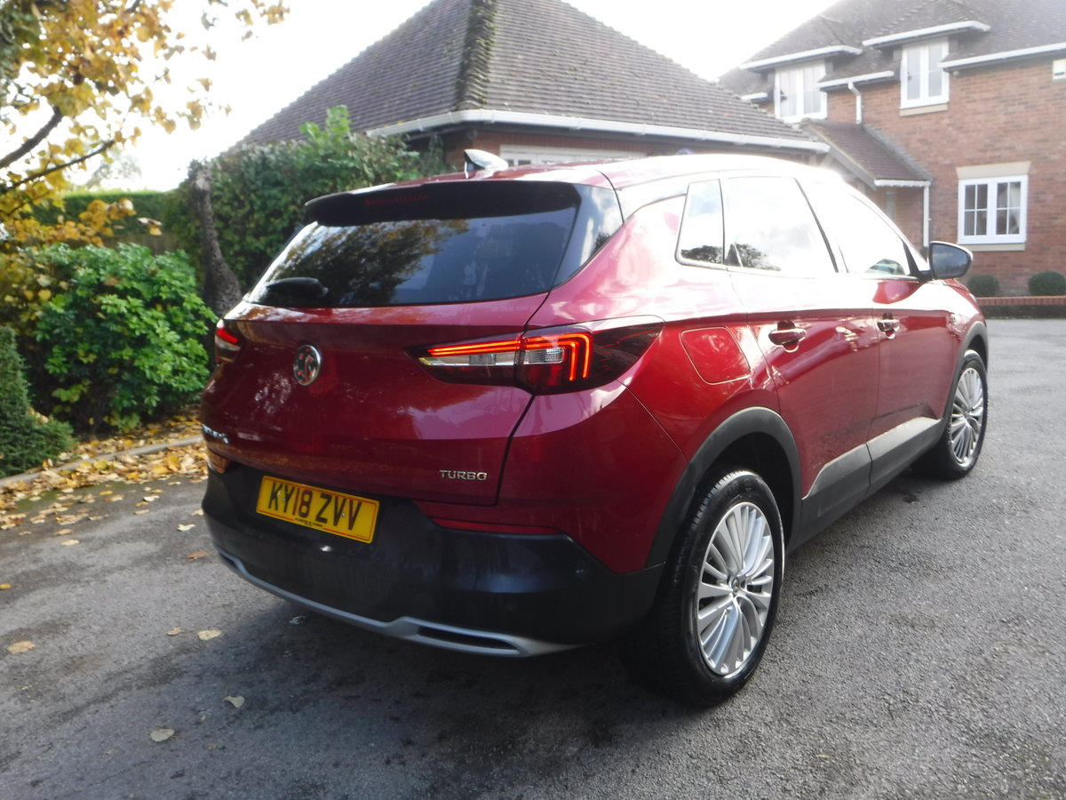 2018 Vauxhall Grandland X 1.2 Turbo Tech Line Nav (s/s) 5dr SOLD (picture 2 of 6)