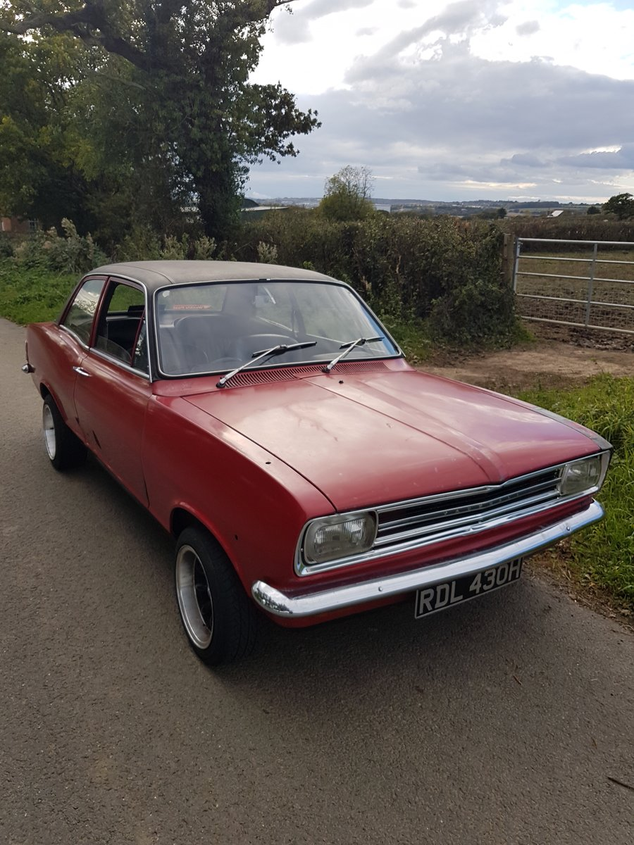 1970 Vauxhall viva hb sl SOLD (picture 1 of 6)