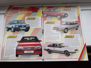 Picture of 1985 Vauxhall sport pamphlet