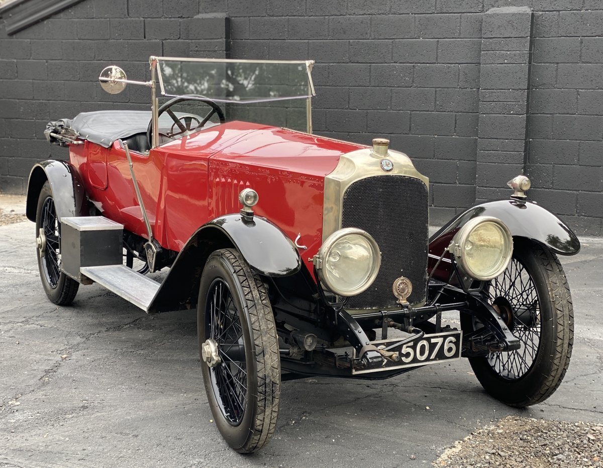 1921 Vauxhall 30/98 'E' Type For Sale (picture 1 of 24)