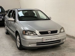 VAUXHALL ASTRA 1.6 AUTOMATIC* ONLY 27,000 GENUINE MILES* FSH