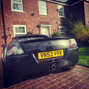Pristine Vauxhall VX220 turbo
