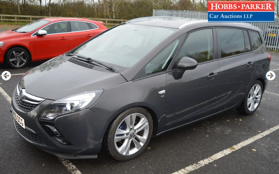 2015 Vauxhall Zafira Tourer - 63,886 Miles - Auction 25th For Sale by Auction (picture 4 of 6)